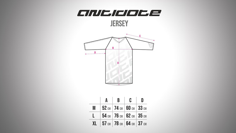 ANTIODOTE TEAM JERSEY 3/4 Table Size