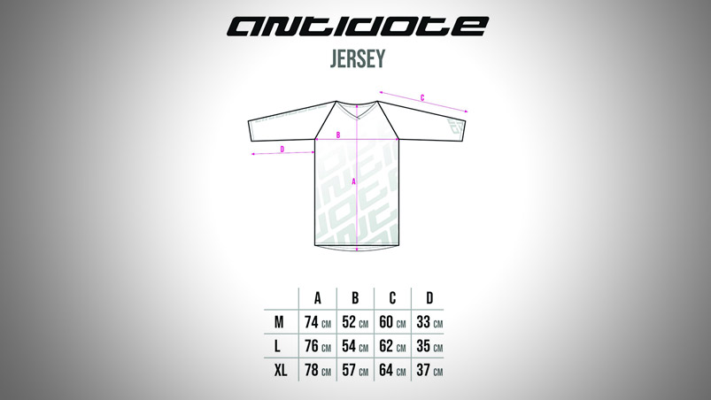 ANTIODOTE TEAM JERSEY 3/4